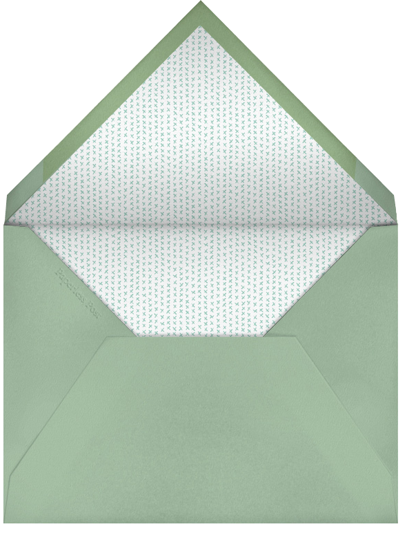 Wee Things - Neutral - Paperless Post - Baby shower - envelope back
