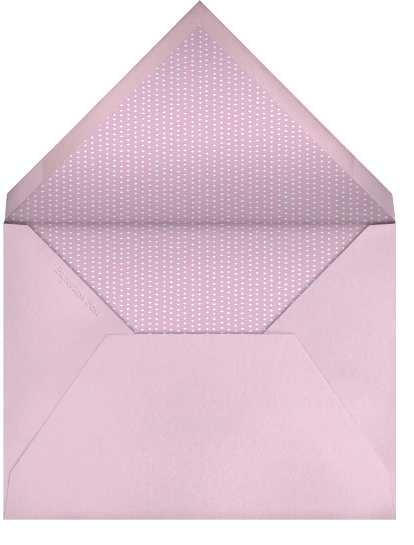 Wee Things - Pink - Paperless Post - Baby shower - envelope back