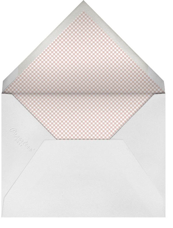 Squared Corner Frame - Blossom - Paperless Post - Birth - envelope back