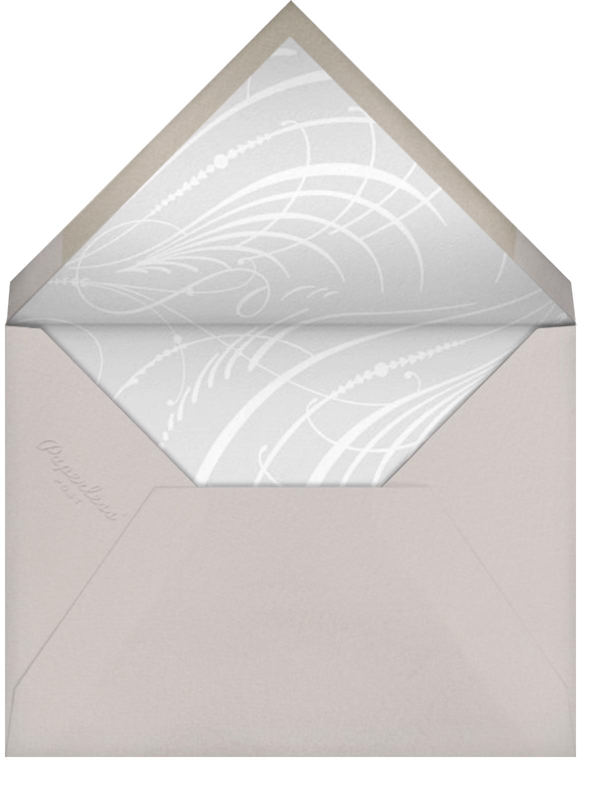 Jarra Bautismal - Paperless Post - Baptism  - envelope back