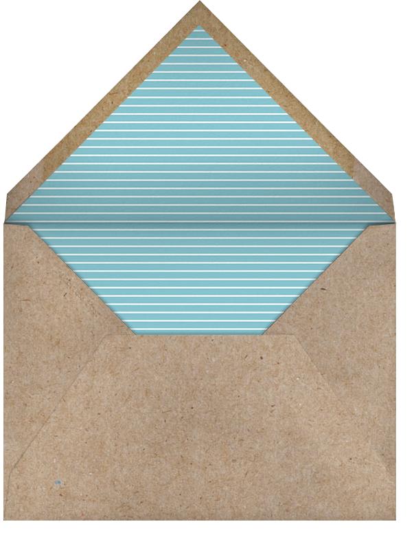 Ribbon Banner - Bondi - Paperless Post - Birth - envelope back