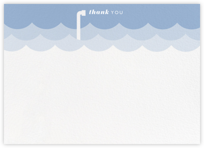 Submarine Sea Horizontal - Paperless Post - General thank you notes