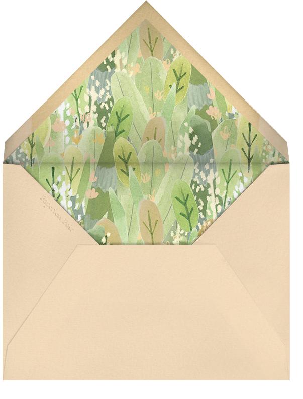 Leaf Garland - Paperless Post - Birth - envelope back