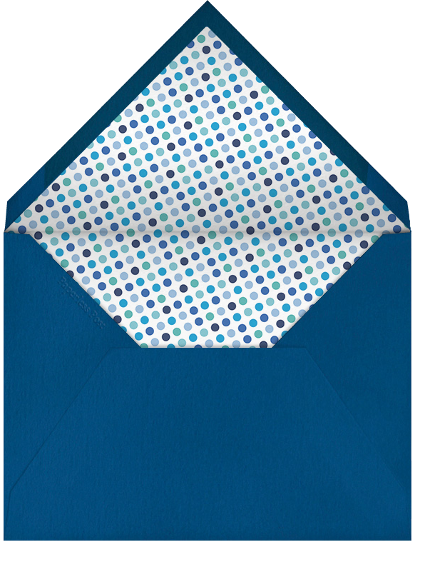 Dropstitch - Harbor and Navy - Paperless Post - Kids' stationery - envelope back