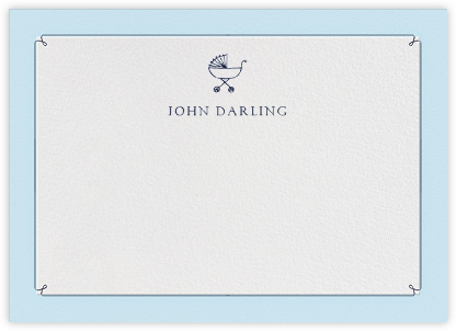 Dropstitch - Harbor and Navy - Paperless Post - Stationery