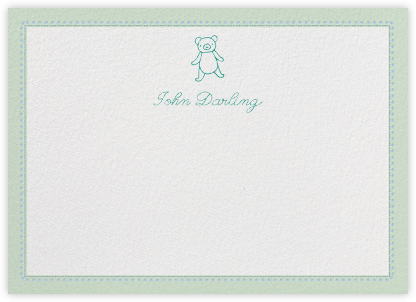 Bellflower - Mint - Paperless Post - Baby and kids' stationery