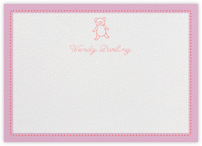 Bellflower - Mauve - Paperless Post - Baby and kids' stationery