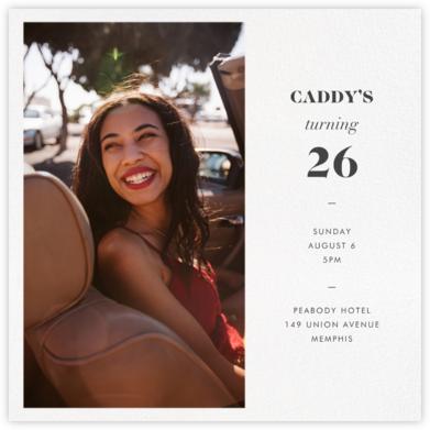 Split Square - Paperless Post - Adult Birthday Invitations