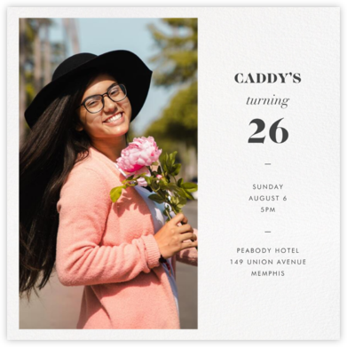 Split Square - Paperless Post - Adult Birthday Invitations