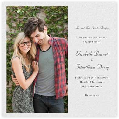 Split Square - Paperless Post - Engagement party invitations
