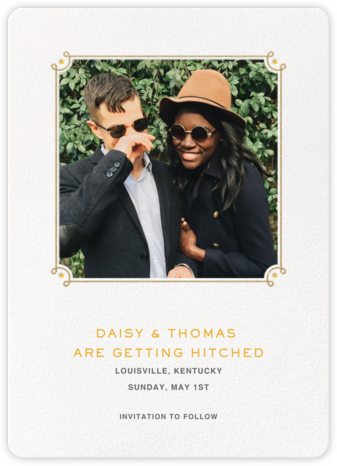 Nursery Rhyme - Paperless Post - Wedding Save the Dates