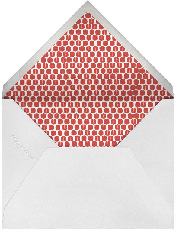 Ribbons for Baby - Oranges - Mr. Boddington's Studio - Baby shower - envelope back