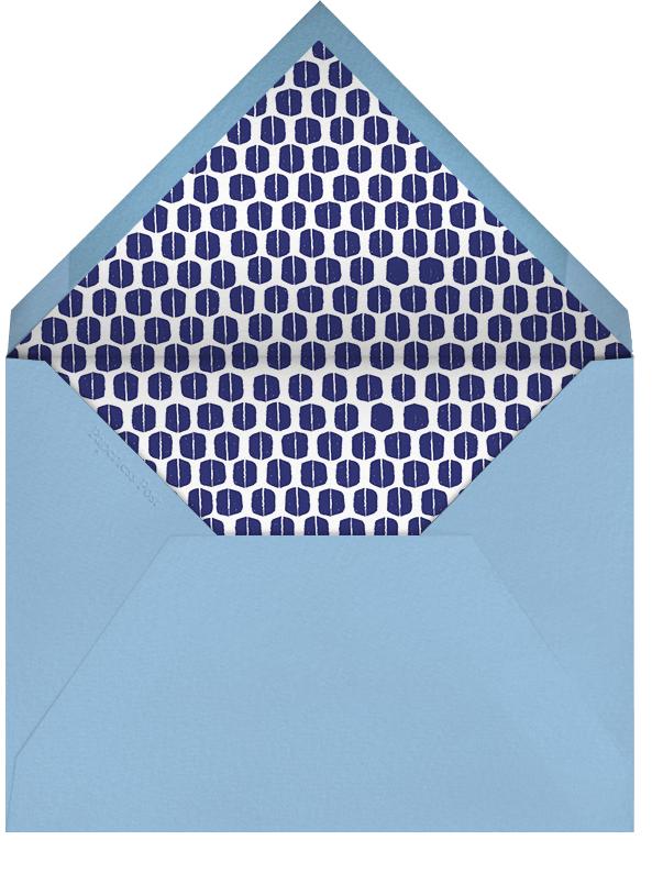 Ribbons for Baby - Blues - Mr. Boddington's Studio - Baby shower - envelope back