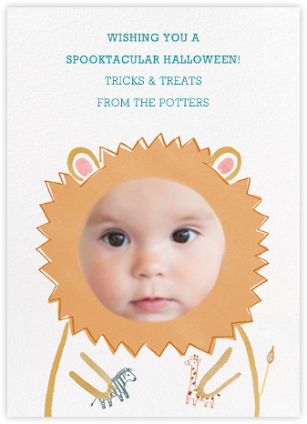 Baby Lion - Paperless Post -