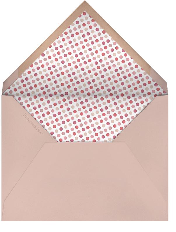 Rounded Corners - Blossom - Paperless Post - 1st birthday - envelope back