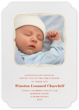 Sweet Dreams - Ivory - Paperless Post - Baptism invitations