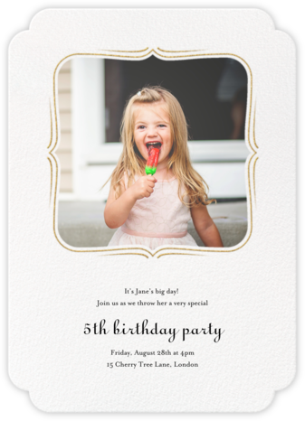 Sweet Dreams - Paperless Post - Birthday invitations
