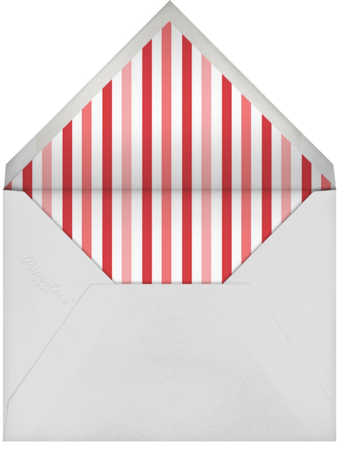 Ra Ra Little One - Brights - Mr. Boddington's Studio - Kids' stationery - envelope back