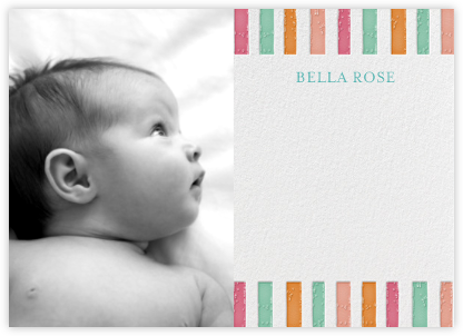 Ra Ra Little One - Brights - Mr. Boddington's Studio - Baby and kids' stationery
