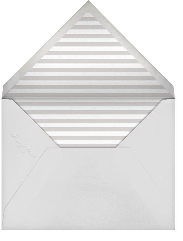 Square Frame - Horizontal (Gray)  - Paperless Post - Envelope