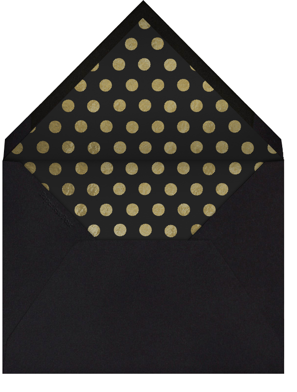 Traditional Frame - Paperless Post - Graduation party - envelope back