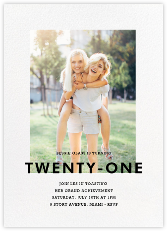 Vertical Overlap - Paperless Post - Adult Birthday Invitations