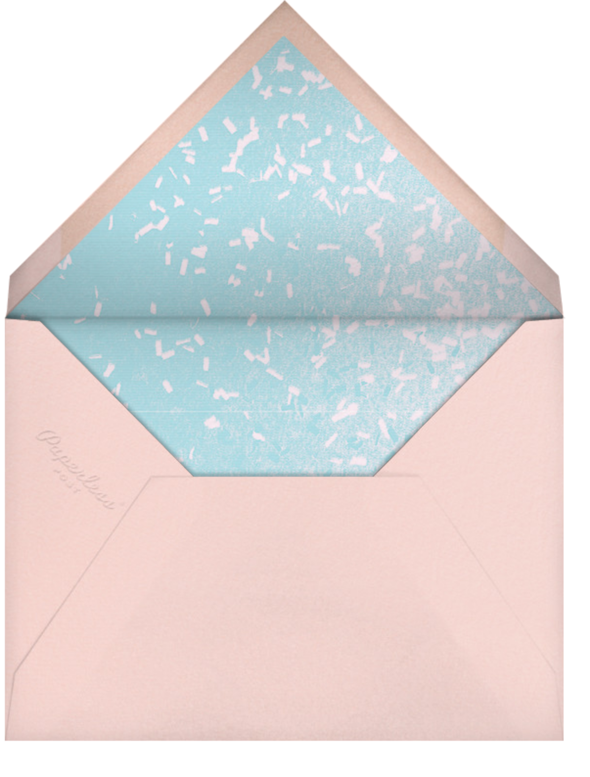 Vertical Overlap - Paperless Post - Cocktail party - envelope back