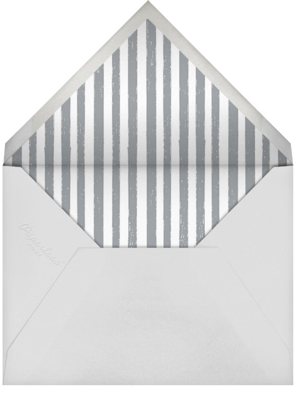 Endless Summer - Blue Bar Mitzvah - Mr. Boddington's Studio - Bar and bat mitzvah - envelope back