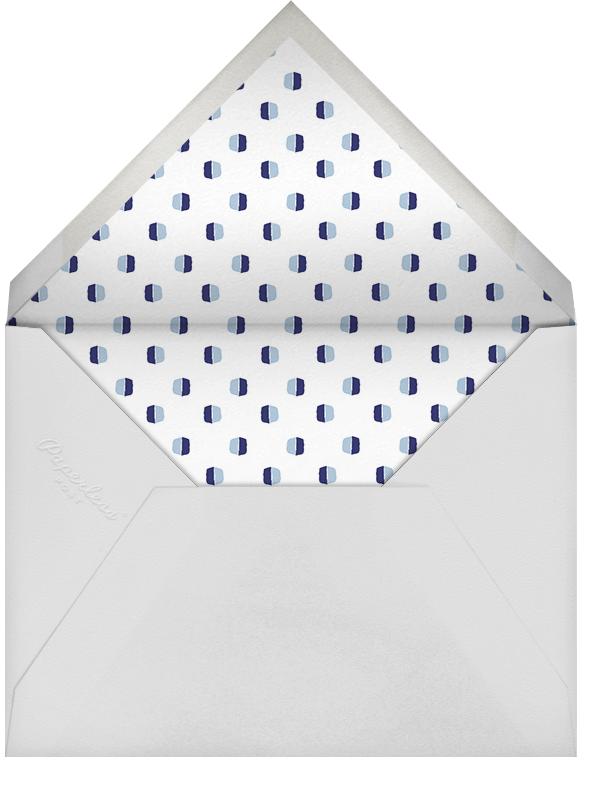 Ribbons for Baby - Blues Bar Mitzvah - Mr. Boddington's Studio - Bar and bat mitzvah - envelope back