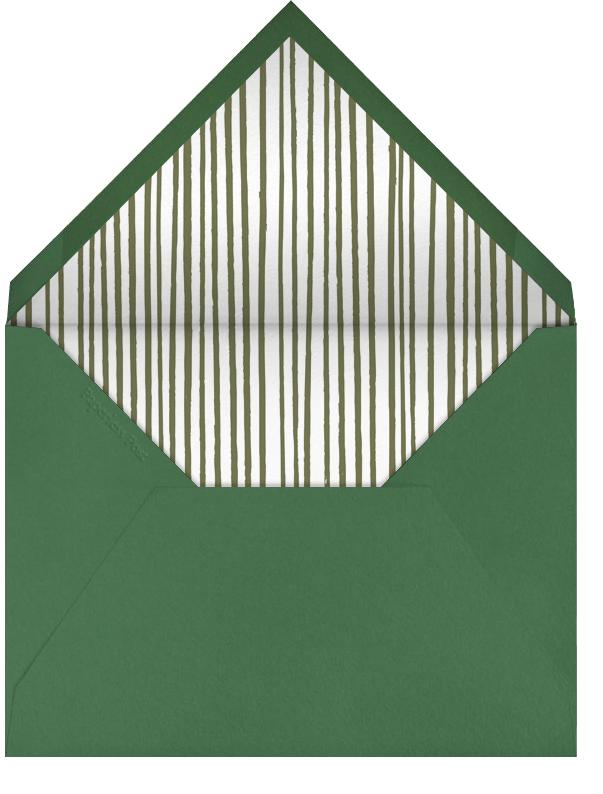 Floral Border - Bat Mitzvah - Paperless Post - Bat and bar mitzvah - envelope back