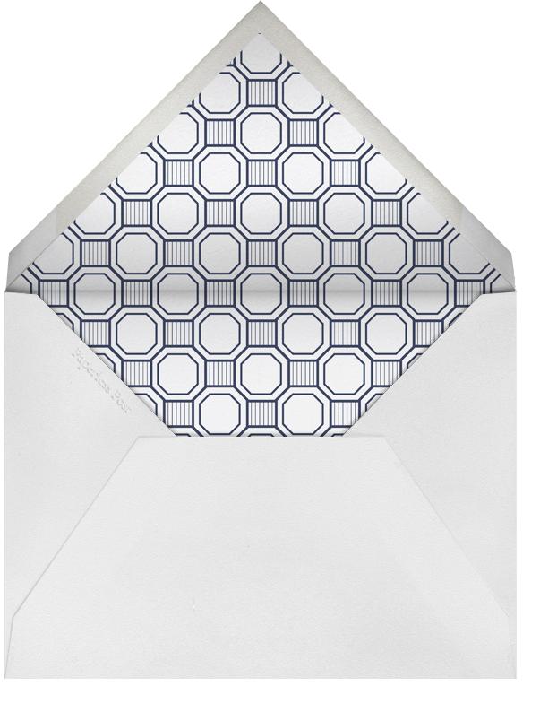 Claridge (Tall) - Navy - Paperless Post - Bar and bat mitzvah - envelope back