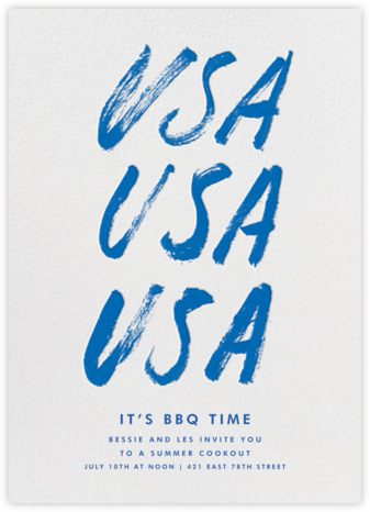 USA - Blue - Paperless Post - Online Party Invitations