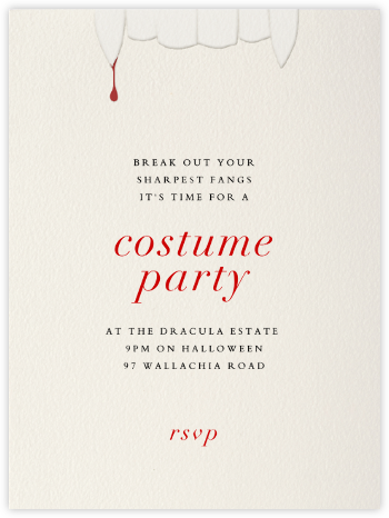 Nosferatu - Paperless Post - Halloween invitations