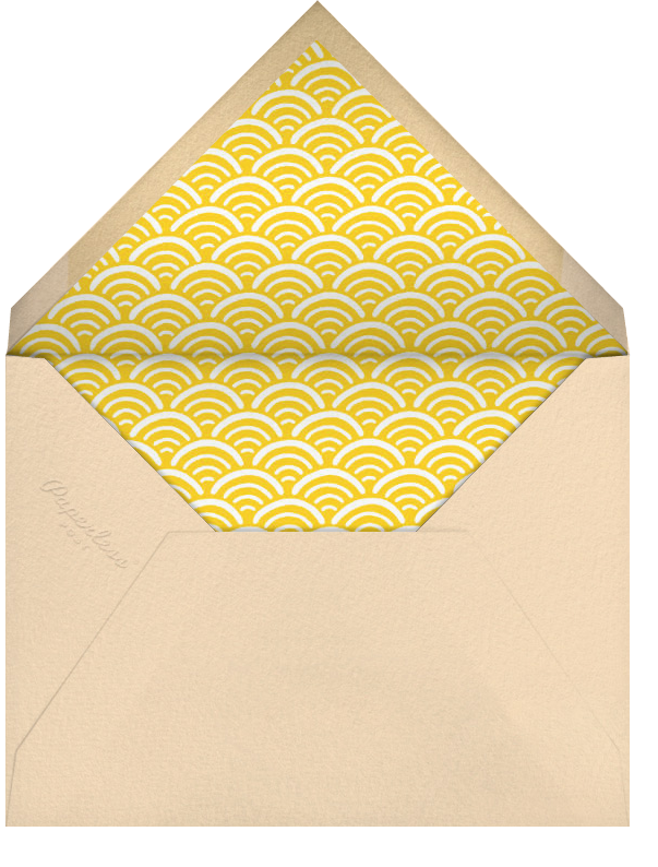SPF 15 - Paperless Post - Beach party - envelope back