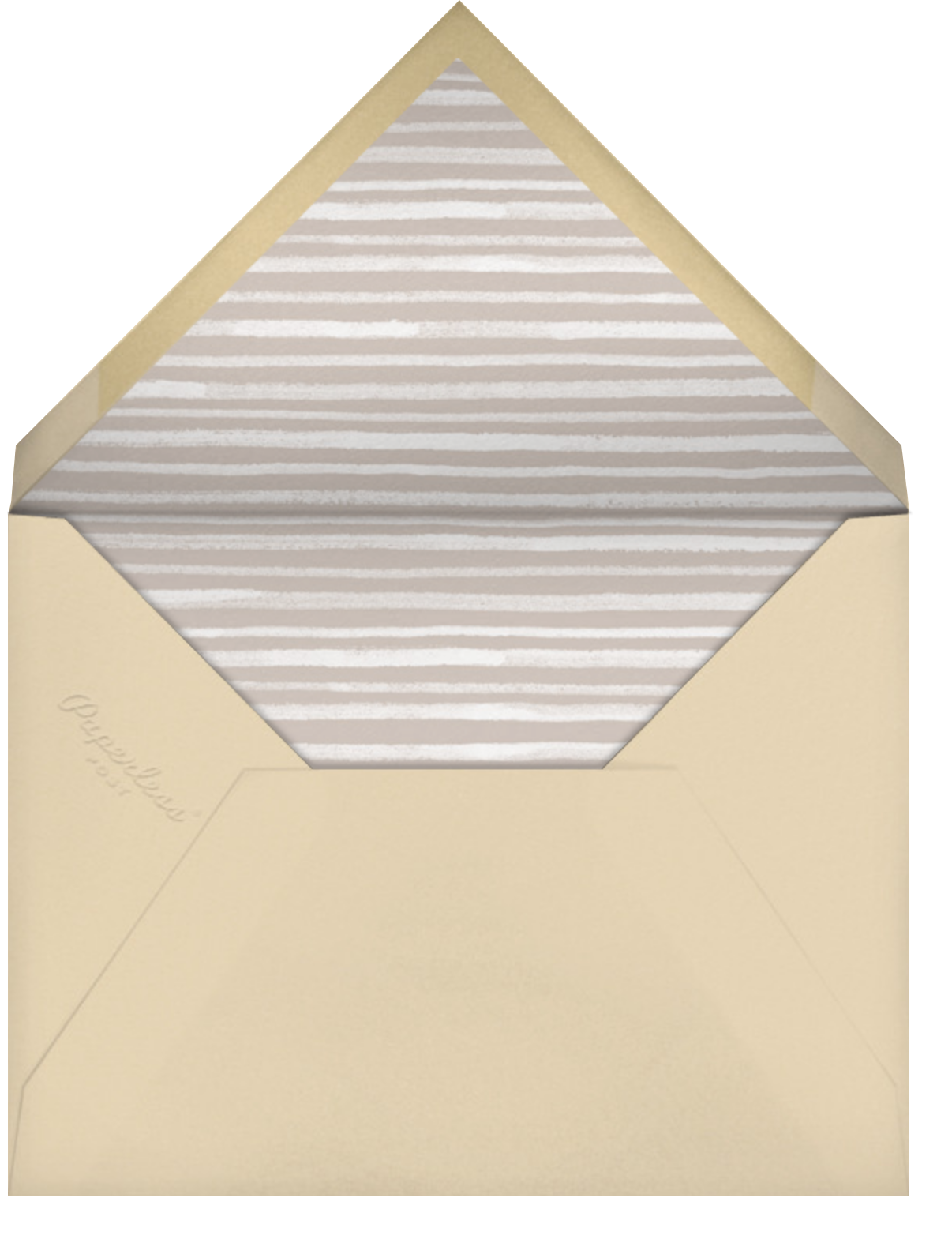 The Works - Paperless Post - Barbecue - envelope back