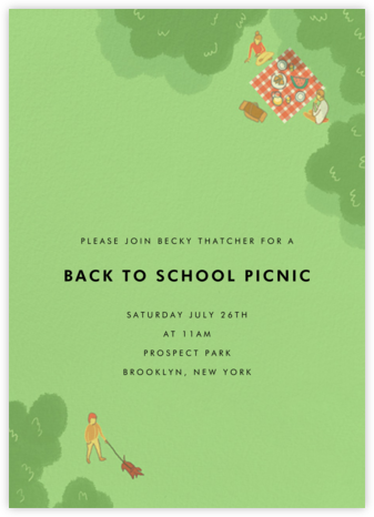 Prospect Park - Paperless Post - Summer entertaining invitations