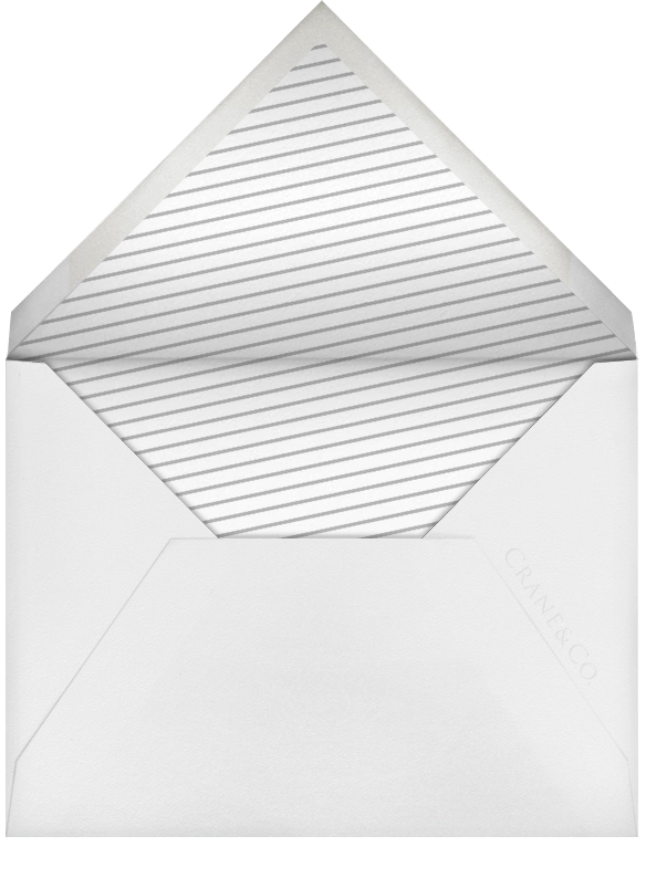 Sip & See - Mint - Paperless Post - Baby shower - envelope back