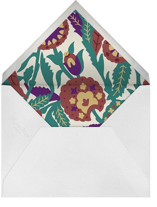 Spanish Garden - Merlot Olive - Oscar de la Renta - Envelope