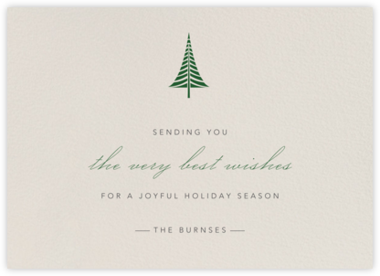 Cream - Paperless Post - Affordable Christmas Cards