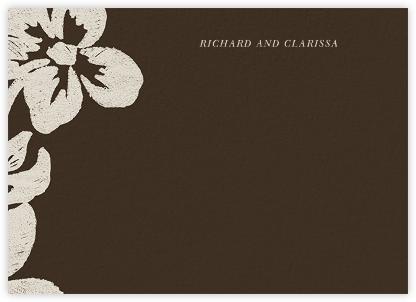 Flora Horizontal - Cocoa - Oscar de la Renta