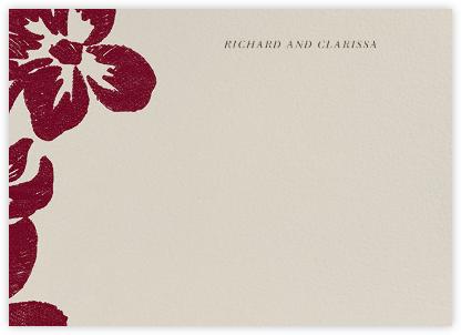 Flora Horizontal - Ruby - Oscar de la Renta -