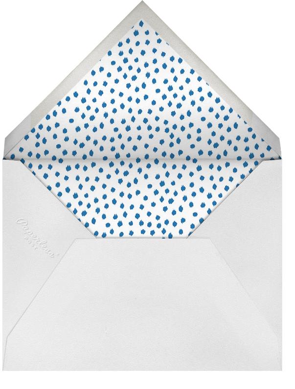 Ikat Dot (Stationery) - Indigo - Oscar de la Renta - null - envelope back