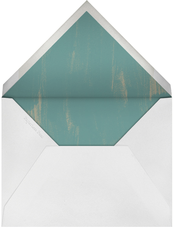 Island Ikat - Blue Green - Oscar de la Renta - Envelope