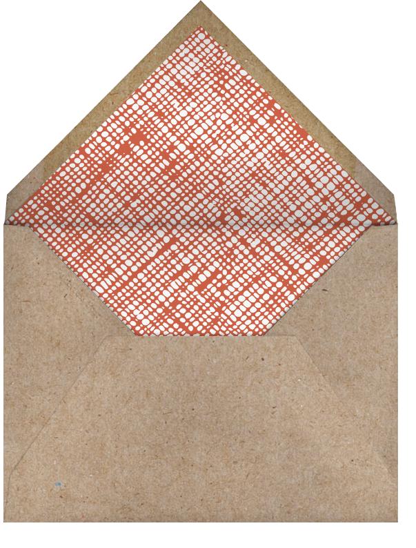 Little Fire Truck - Petit Collage - Kids' birthday - envelope back