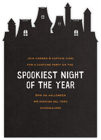 Bates Motel - Paperless Post - Halloween invitations
