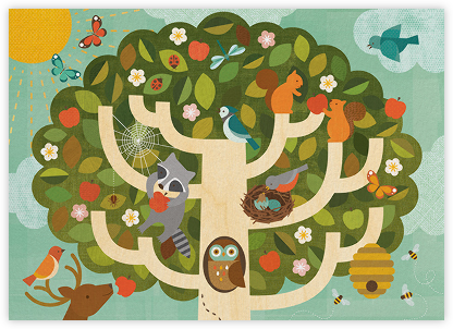 Treetop - Petit Collage - Invitations
