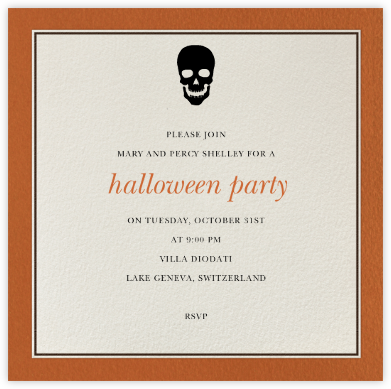 Seal Harbor - Paperless Post - Halloween invitations