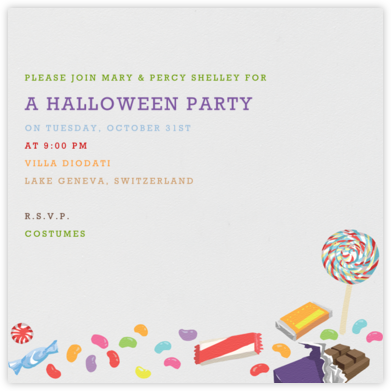 Trick or Treat - Paperless Post - Halloween invitations