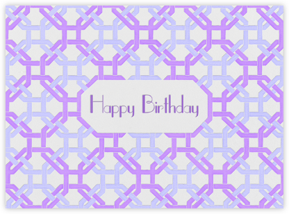 Octagon (Ivory) - Paperless Post - Free Birthday eCards