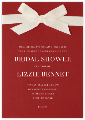 Dunster - Paperless Post - Bridal shower invitations